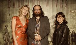 BG Gallery team of Madeline Coy, OM, and Ellen Lutwak