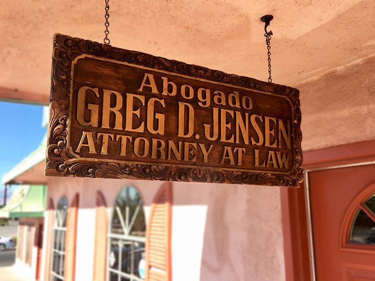Lawyer Greg Jensen