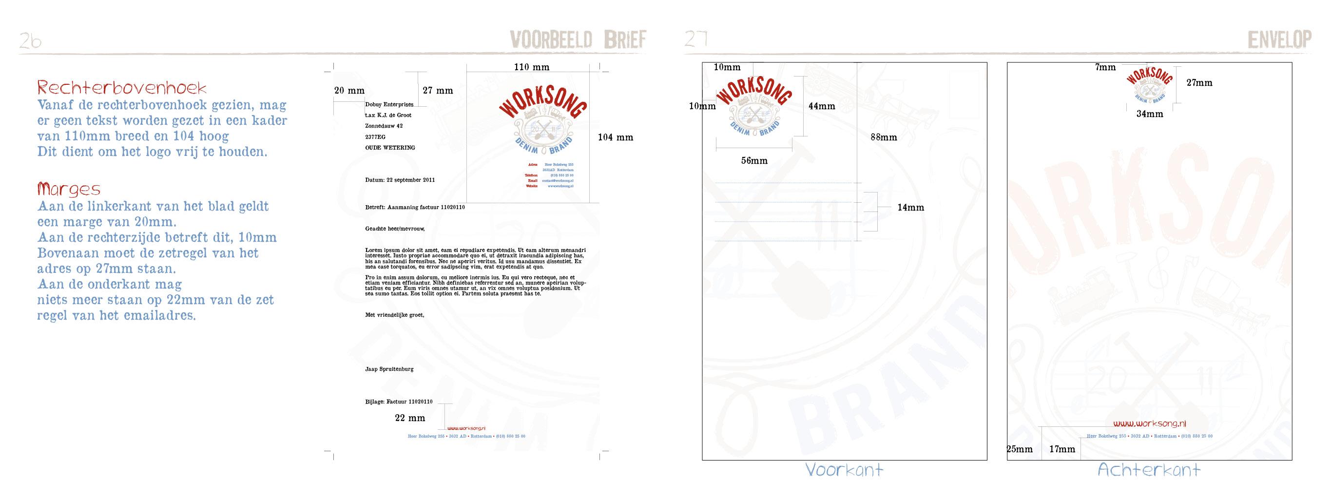 Worksong Huisstijlhandboek14