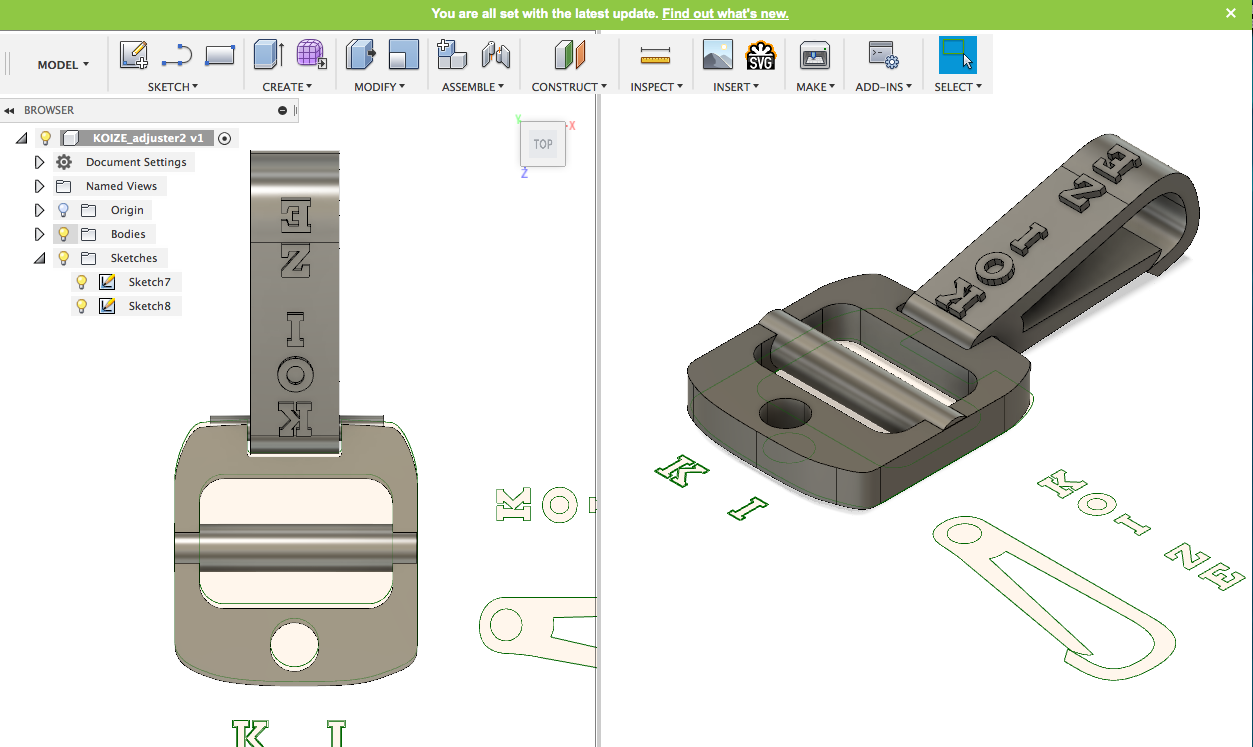 3D program Adjuster