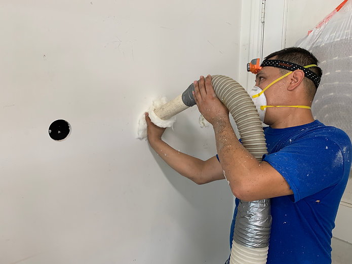 Drill and Fill Insulation