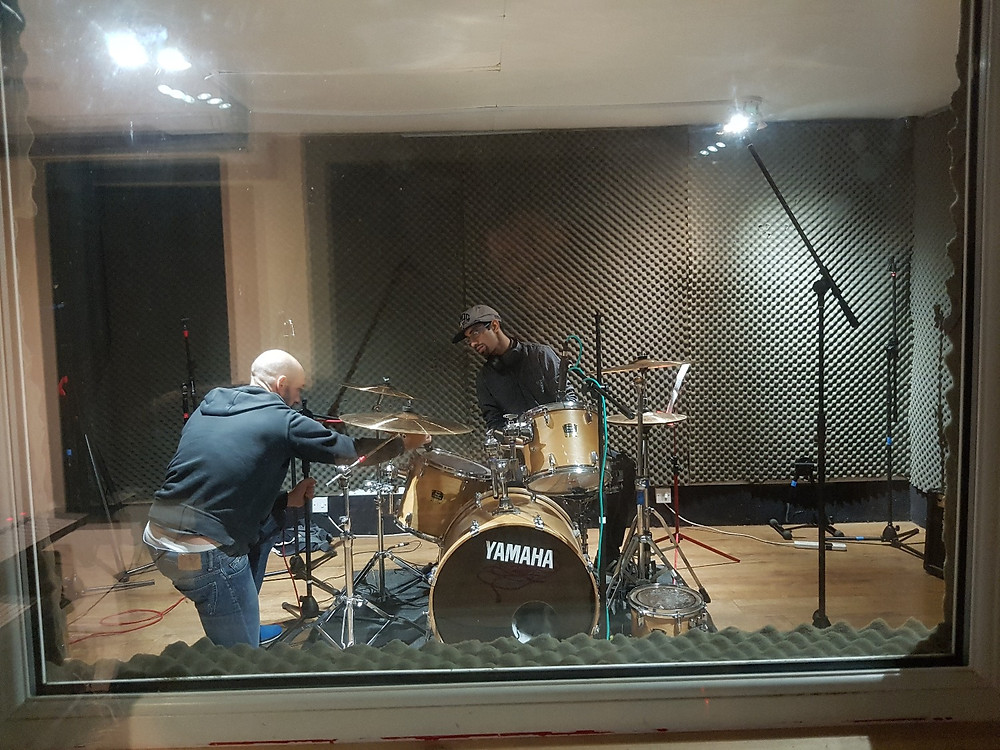 Dwayne in Gatehouse Studios