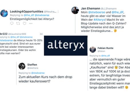 Absturz der Alteryx Aktie - jetzt wieder Kaufkurse?