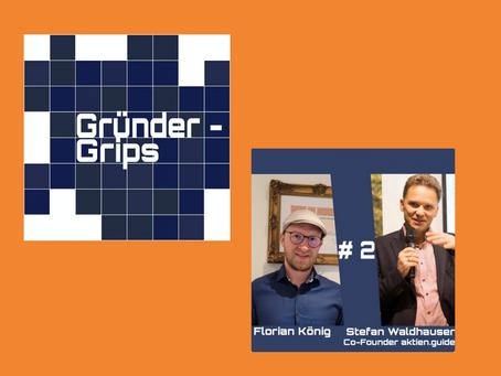 Podcast Interview mit Florian König von GründerGrips