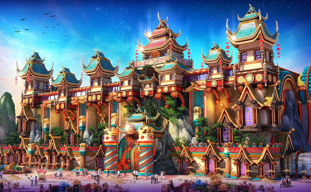 China Häuser