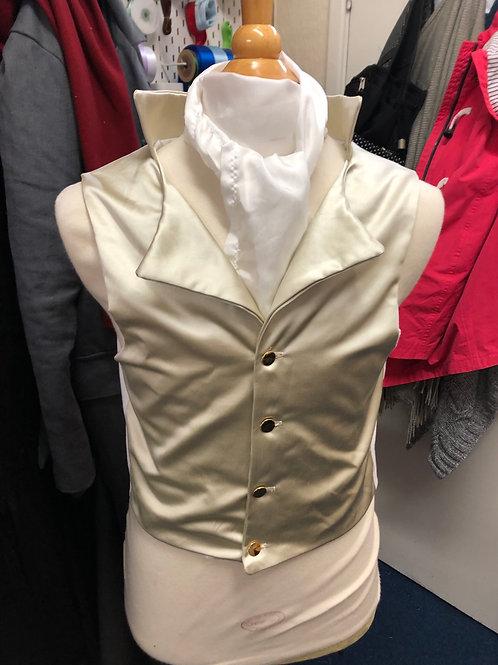 Duchess satin waistcoat