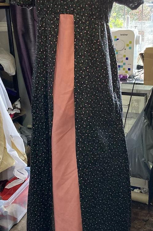 Cotton round gown