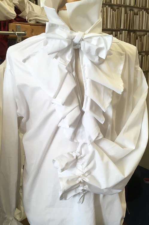 Jabot shirt made to order