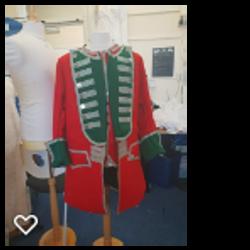 Mercian Museum redcoat