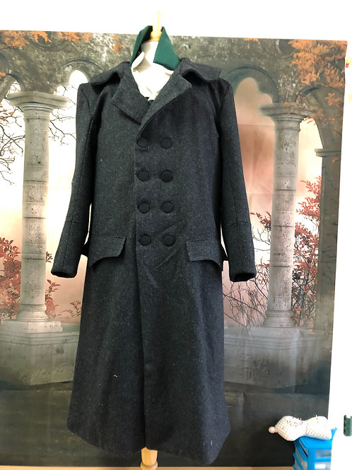 Wool great coat made to order