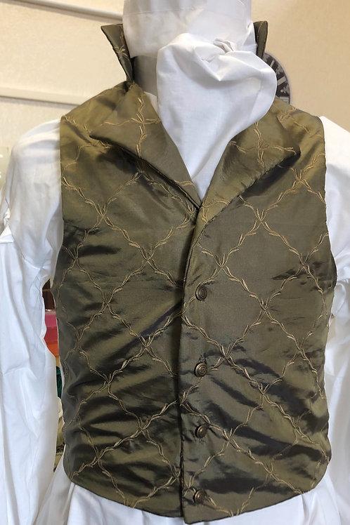 Bronze/ brass coloured  waistcoat