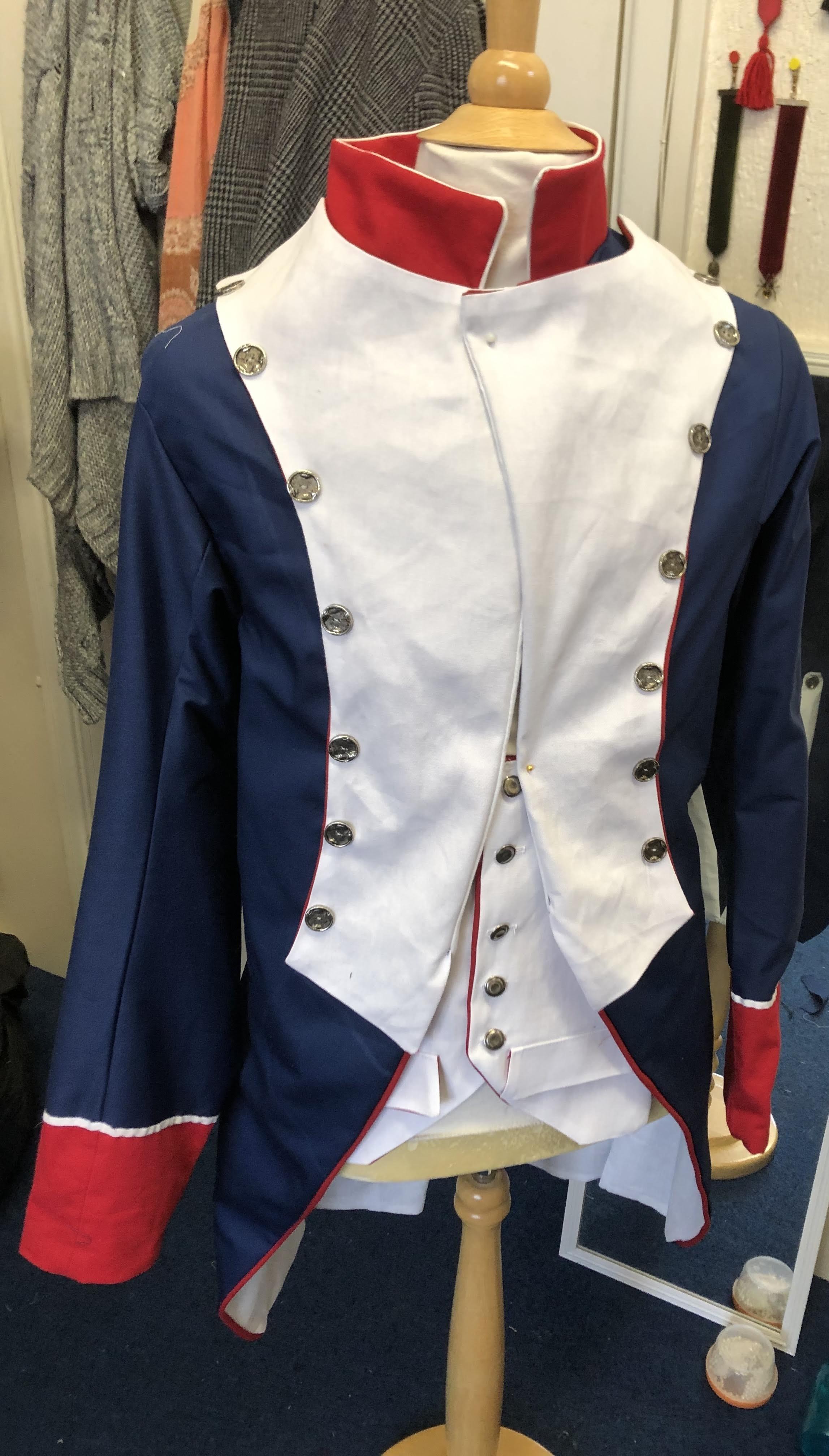 Scarlet Pimpernel uniform .jpe