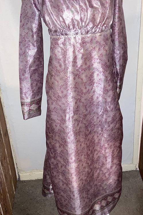 Sari silk gown