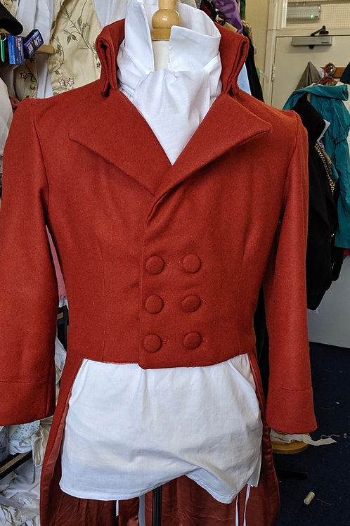 Regency made to order frock coat in wool