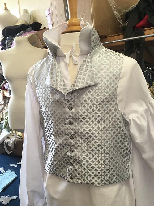 Bespoke made to order waistcoat