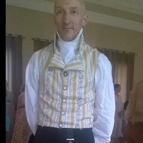 MADE TO ORDER Regency Gentleman's waistcoat
