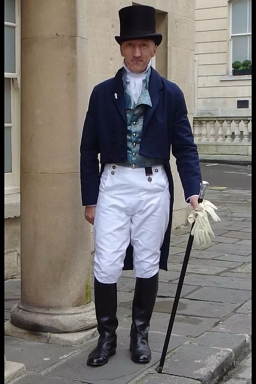 copy of MADE TO ORDER Regency or Georgian style breeches