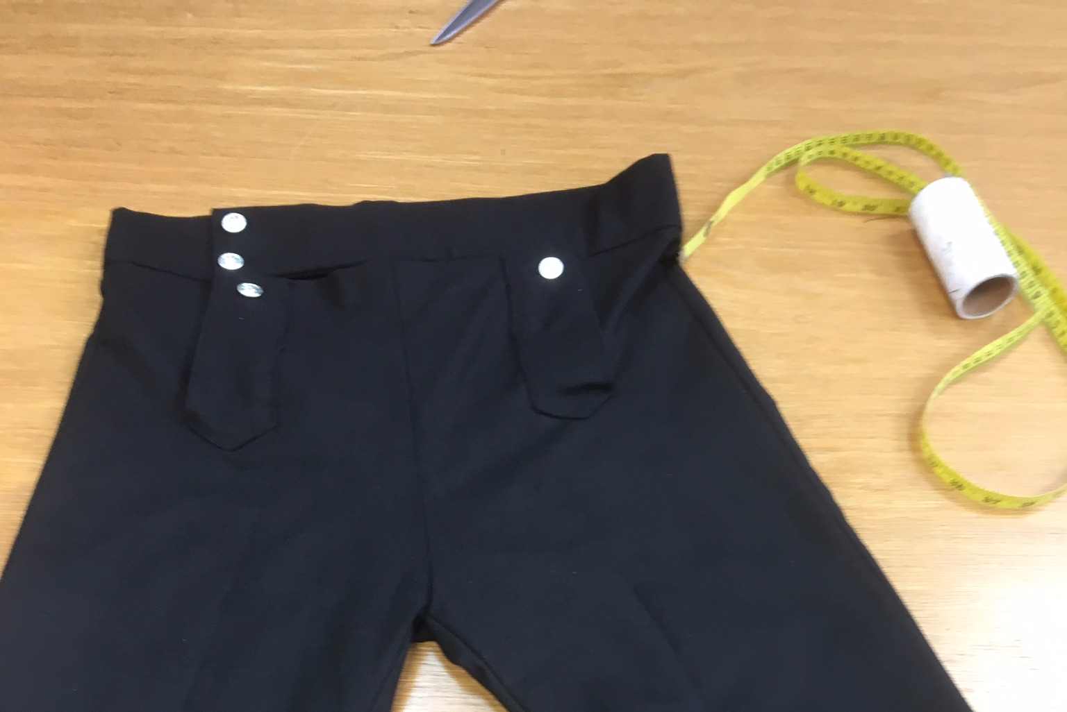 black moleskin breeches