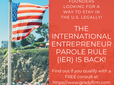 """The """"International Entrepreneur Parole Rule"""" Is Back as an Immigration Option for Startup Founders"""