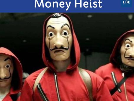 ใครเคยดูซีรีส์เรื่อง Money Heist บน Netflix บ้าง