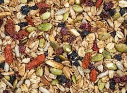 My fruit and nut mix