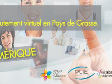 Invitation au 1er forum de recrutement virtuel en Pays de Grasse - Jeudi 27 mai 2021