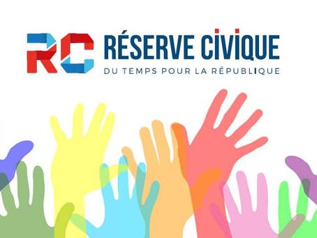 LA RESERVE CIVIQUE- Engagez-vous face à l'épidémie de Covid-19