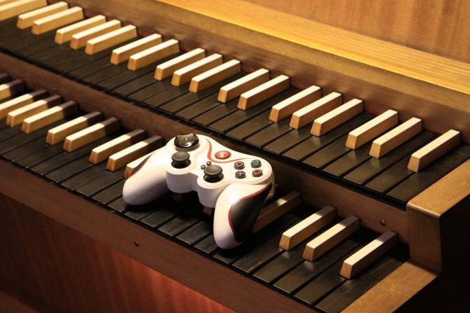 Musique de jeux vidéo à l'orgue