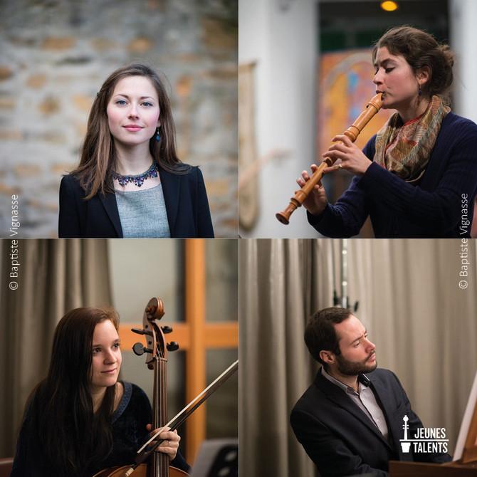 Un quatuor à Paris