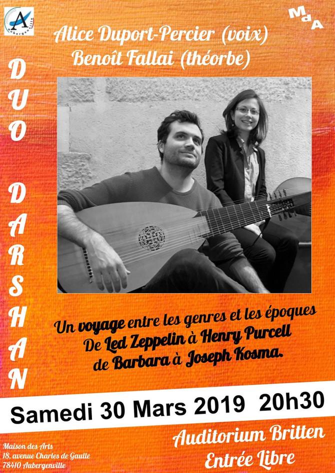 Duo Darshan à Aubergenville