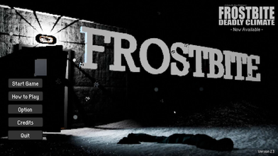 a Pixelated Horror game & prototype to FROSTBITE: Deadly Climate  SYNOPSIS Beware of the horrors below the ice. In the shoes of the last remaining member of a secret research team, you awaken to a bitter cold and discover the dead bodies of your friends. Will you be able to solve the mystery, or will you meet the same frigid fate as them?