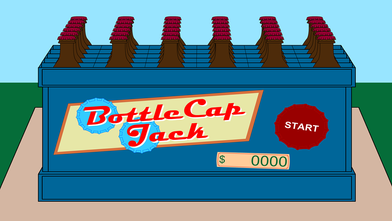 a simple Match-Three Game made in Adobe Flash  SYNOPSIS Bottlecap Jack, has a massive obsession of collecting bottlecaps, he has collected so many bottlecaps over the years that he now decided he wants to hire someone to help organized his collection. Help organize his collection through a Match 3 style game.