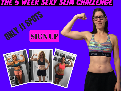 Members Price 5 Week Sexy Slim Challenge