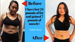 weight loss case study estela Rivas