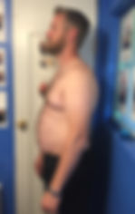personal trainer weight loss jake before