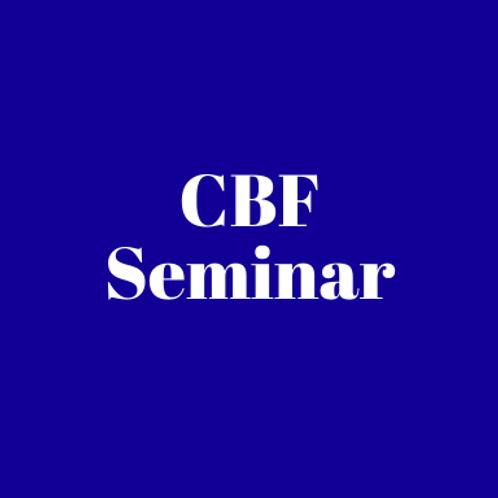 CBF Seminar Access