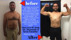 weight loss case study mauricio