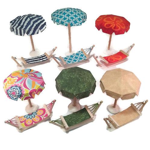 Hammock and Umbrella Matching set
