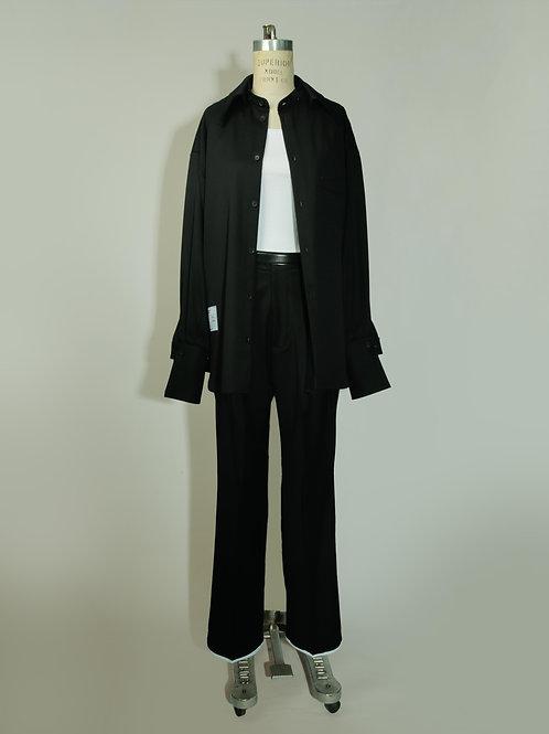 Pants tiro alto - Negro