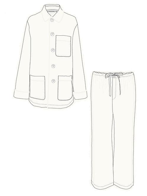 Pajamas OFF WHITE c/ vivo off white