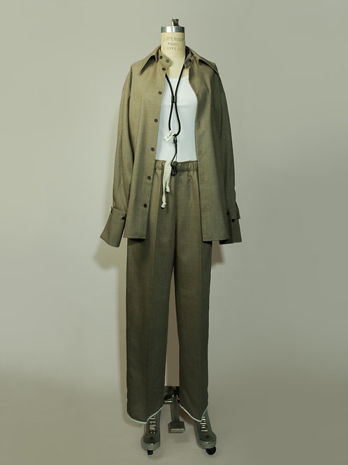 Pants Ancho - Tweed