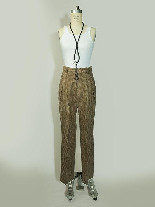 Pants tiro alto - Tweed