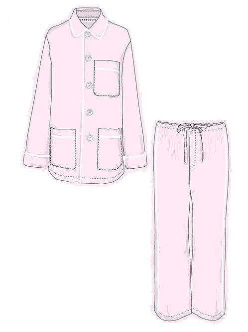 Pajamas ROSA c/ vivo blanco
