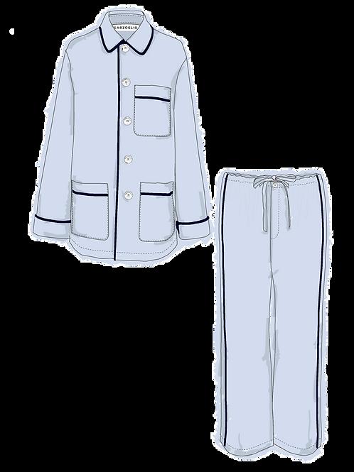 Pajamas CELESTE c/ vivo marino