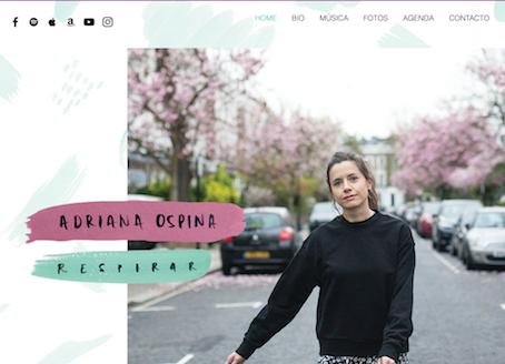 Bienvenidos a mi nueva página web! // Welcome to my new website!