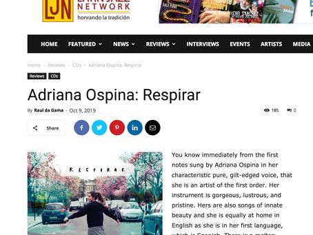 Artículo en Latin Jazz Network // Latin Jazz Network's review