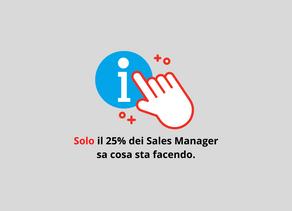 Solo il 25% dei Sales Managers sa cosa sta facendo