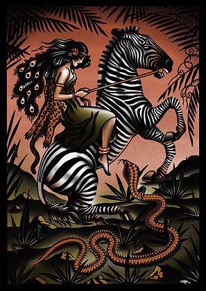 zebra boss print