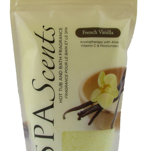 SpaScents 482g Crystal Pouch French Vanilla