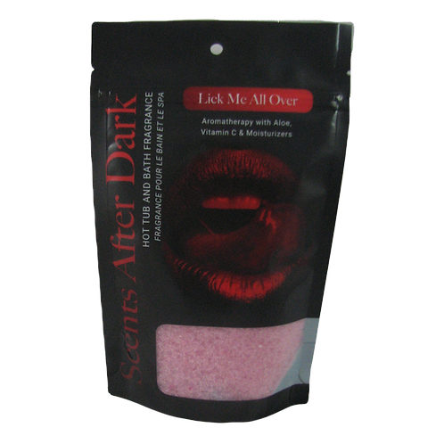 Scents After Dark 482g Crystal Pouch Lick Me All Over